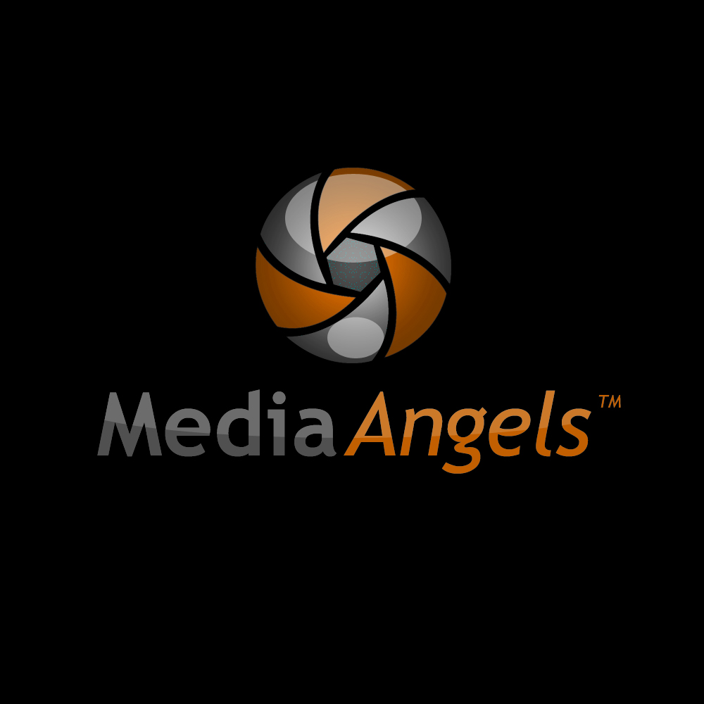 Logo Design by omARTist - Entry No. 207 in the Logo Design Contest New Logo Design for Media Angels.