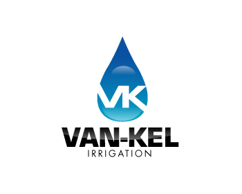 Logo Design by Muhammad Sopandi - Entry No. 165 in the Logo Design Contest Van-Kel Irrigation Logo Design.