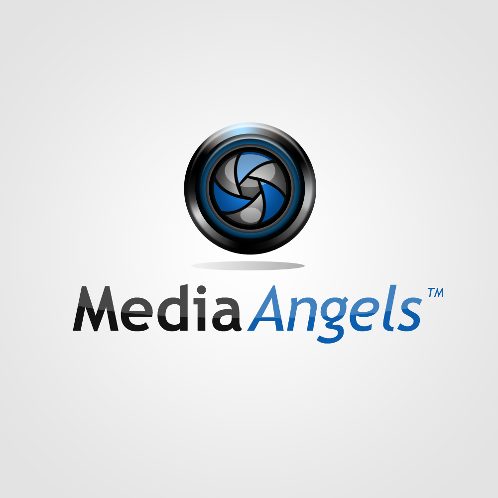 Logo Design by omARTist - Entry No. 209 in the Logo Design Contest New Logo Design for Media Angels.