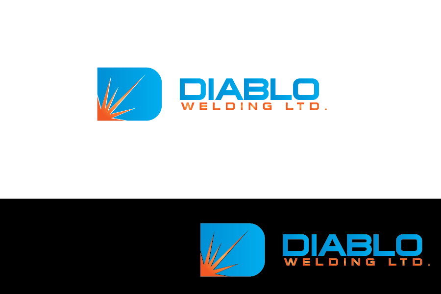 Logo Design by Private User - Entry No. 3 in the Logo Design Contest New Logo Design for Diablo Welding Ltd..