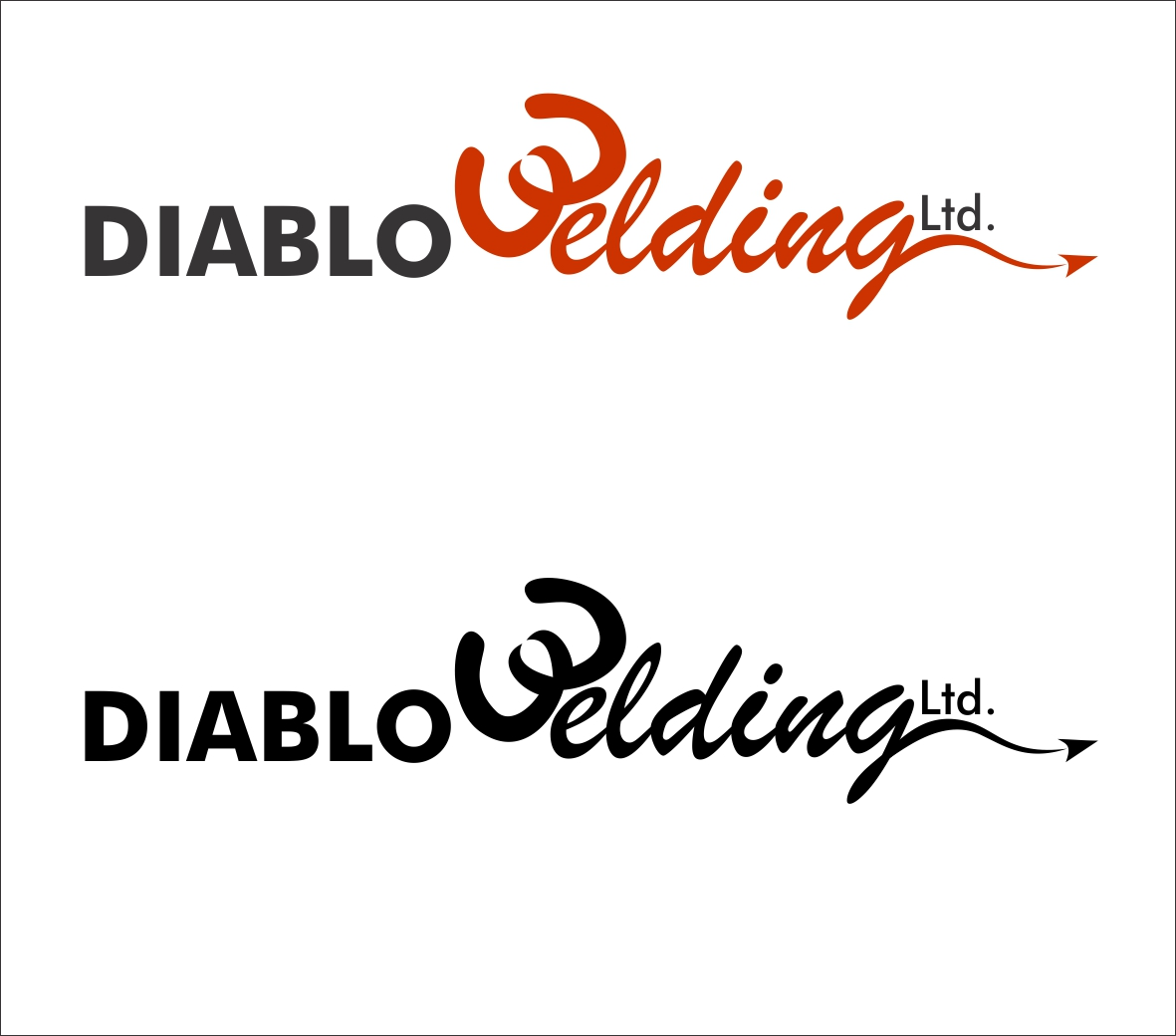 Logo Design by Hudy Wake - Entry No. 4 in the Logo Design Contest New Logo Design for Diablo Welding Ltd..