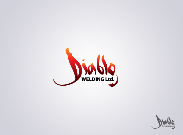 Logo Design by Private User - Entry No. 8 in the Logo Design Contest New Logo Design for Diablo Welding Ltd..