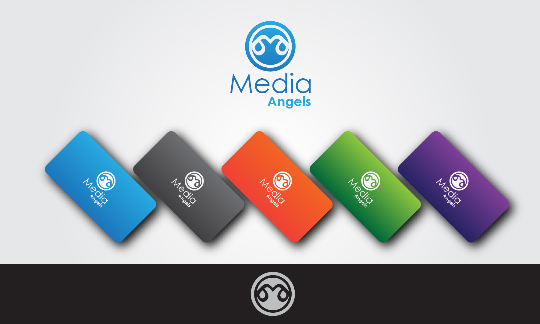 Logo Design by 3draw - Entry No. 219 in the Logo Design Contest New Logo Design for Media Angels.