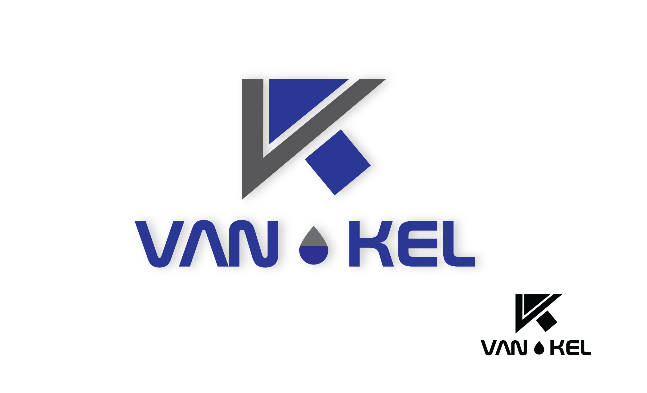 Logo Design by Private User - Entry No. 171 in the Logo Design Contest Van-Kel Irrigation Logo Design.