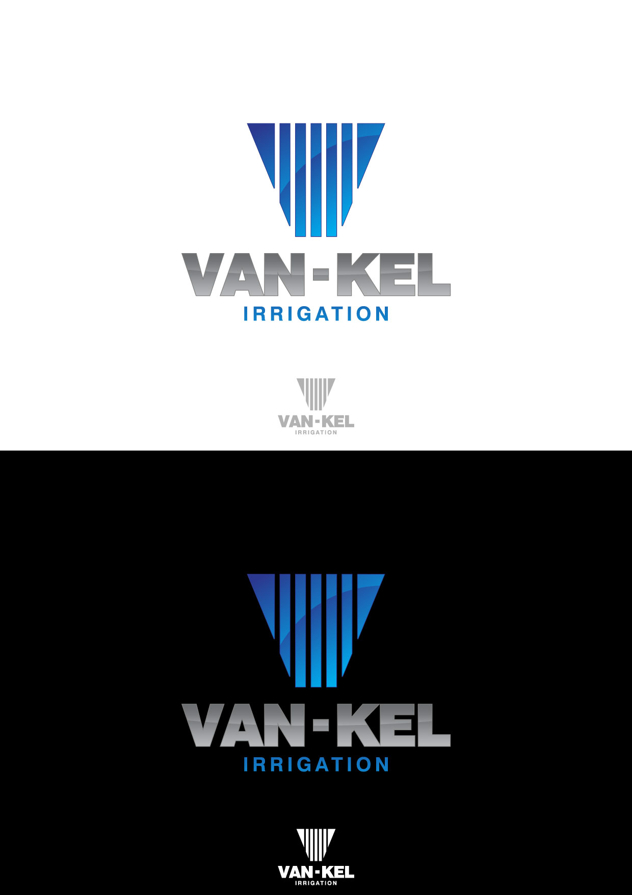 Logo Design by Nurgalih Destianto - Entry No. 172 in the Logo Design Contest Van-Kel Irrigation Logo Design.
