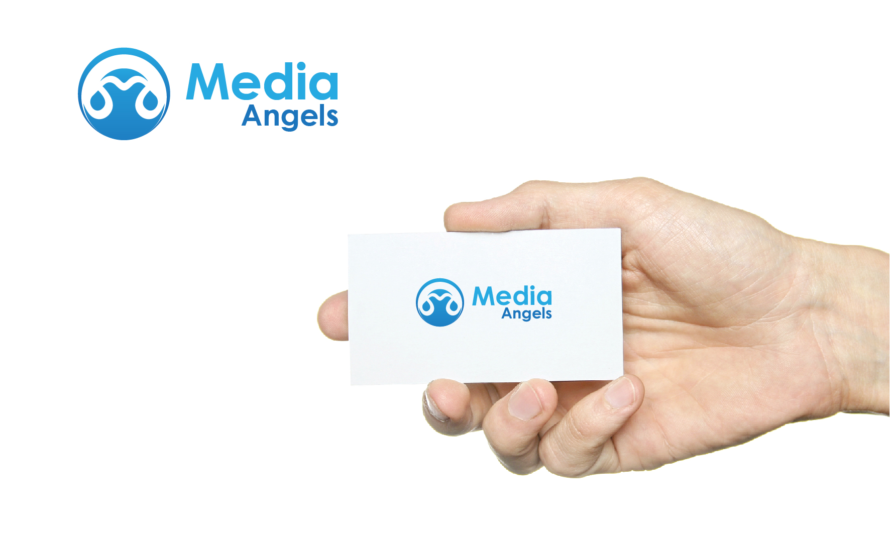 Logo Design by 3draw - Entry No. 222 in the Logo Design Contest New Logo Design for Media Angels.