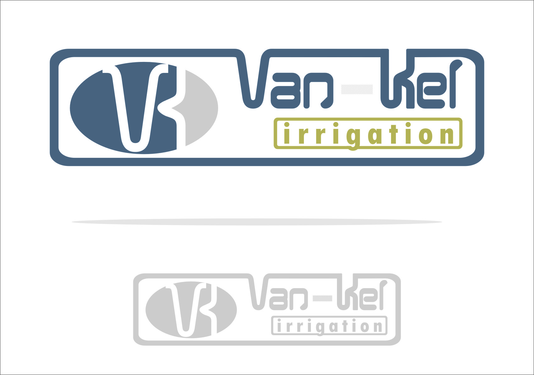 Logo Design by RoSyid Rono-Rene On Java - Entry No. 173 in the Logo Design Contest Van-Kel Irrigation Logo Design.