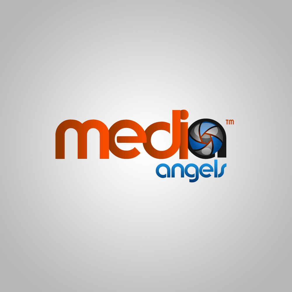 Logo Design by omARTist - Entry No. 223 in the Logo Design Contest New Logo Design for Media Angels.