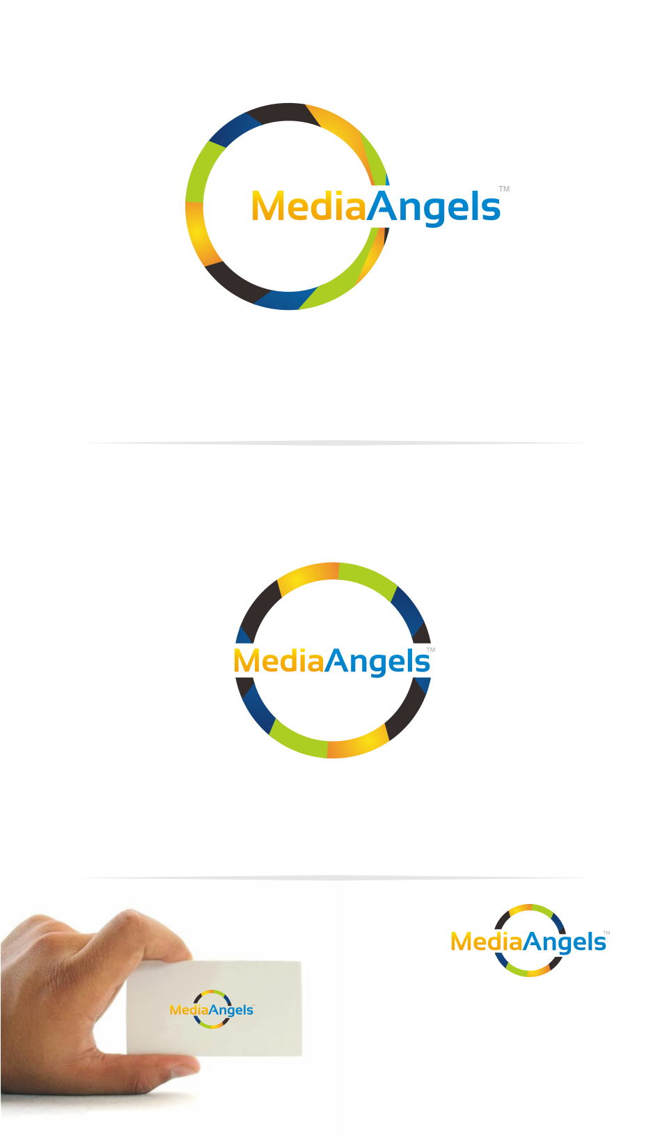 Logo Design by Mitchnick Sunardi - Entry No. 230 in the Logo Design Contest New Logo Design for Media Angels.