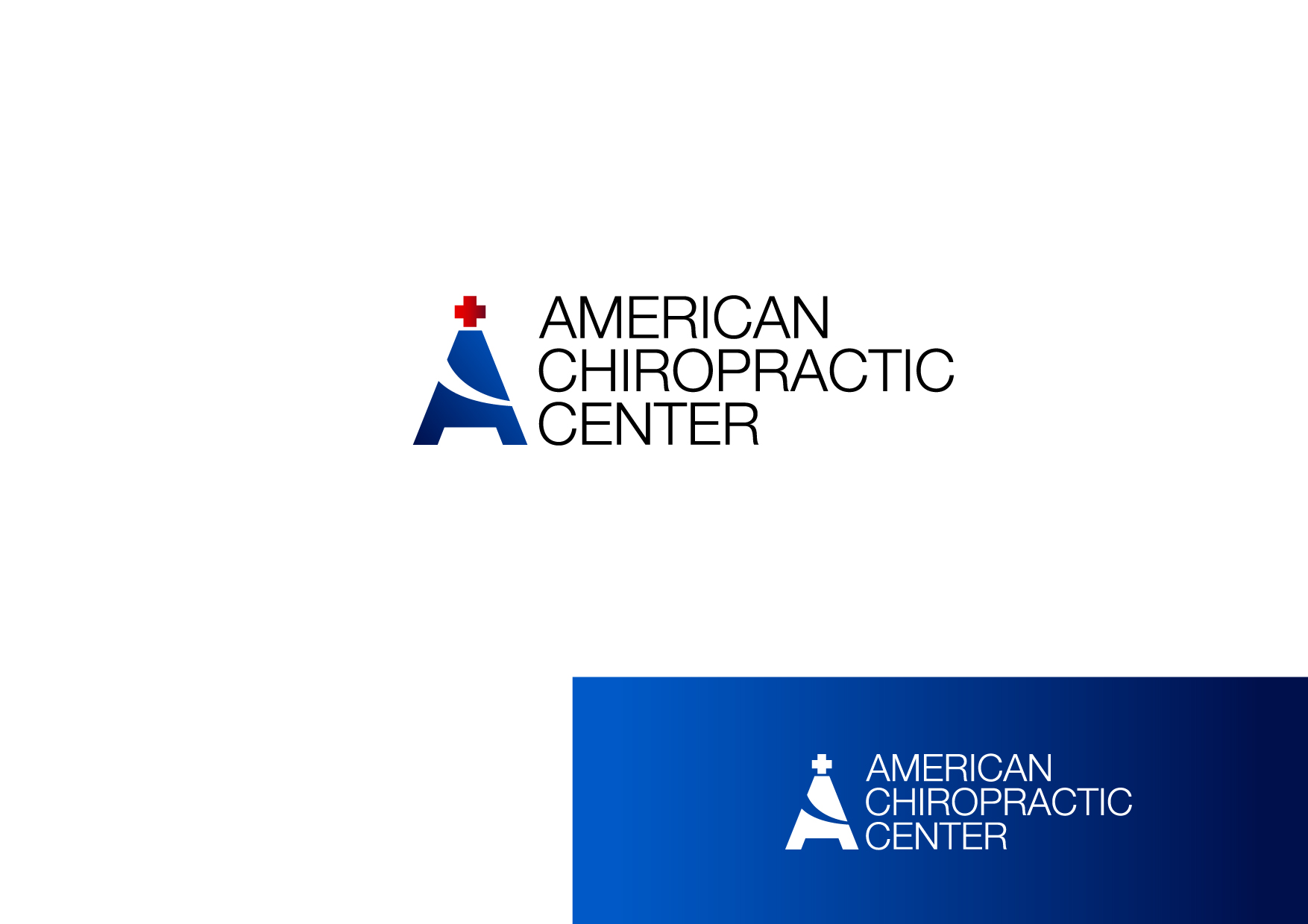 Logo Design by Osi Indra - Entry No. 59 in the Logo Design Contest Logo Design for American Chiropractic Center.