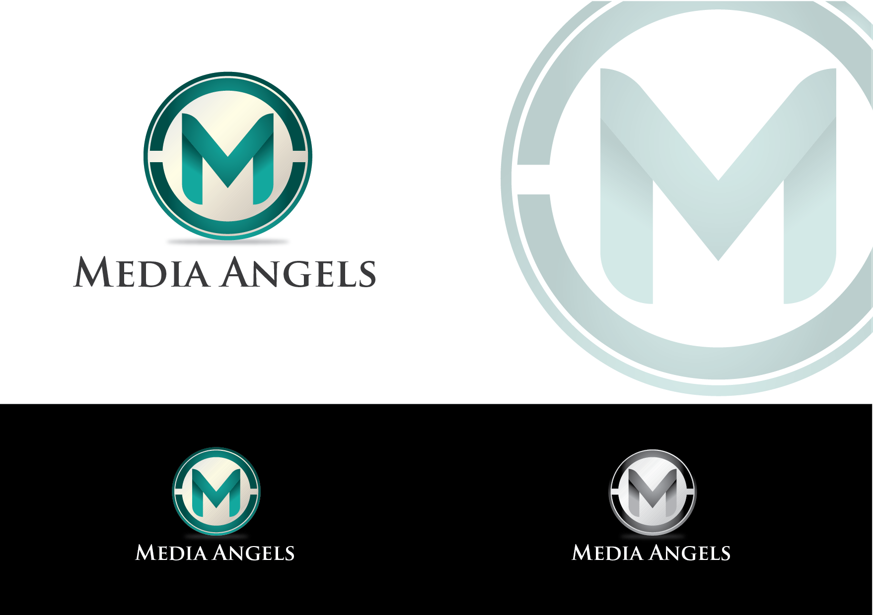 Logo Design by my - Entry No. 235 in the Logo Design Contest New Logo Design for Media Angels.