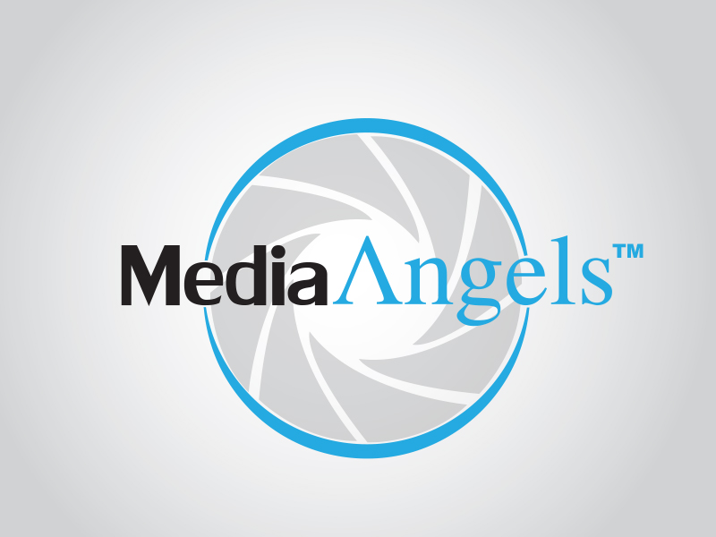 Logo Design by Mythos Designs - Entry No. 236 in the Logo Design Contest New Logo Design for Media Angels.