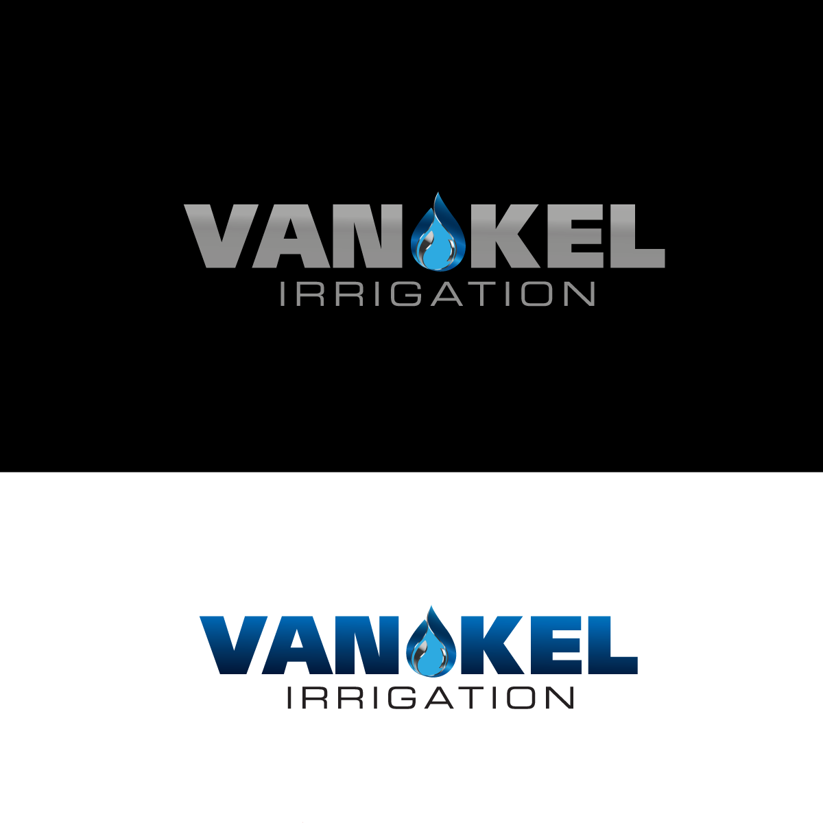 Logo Design by rockin - Entry No. 179 in the Logo Design Contest Van-Kel Irrigation Logo Design.
