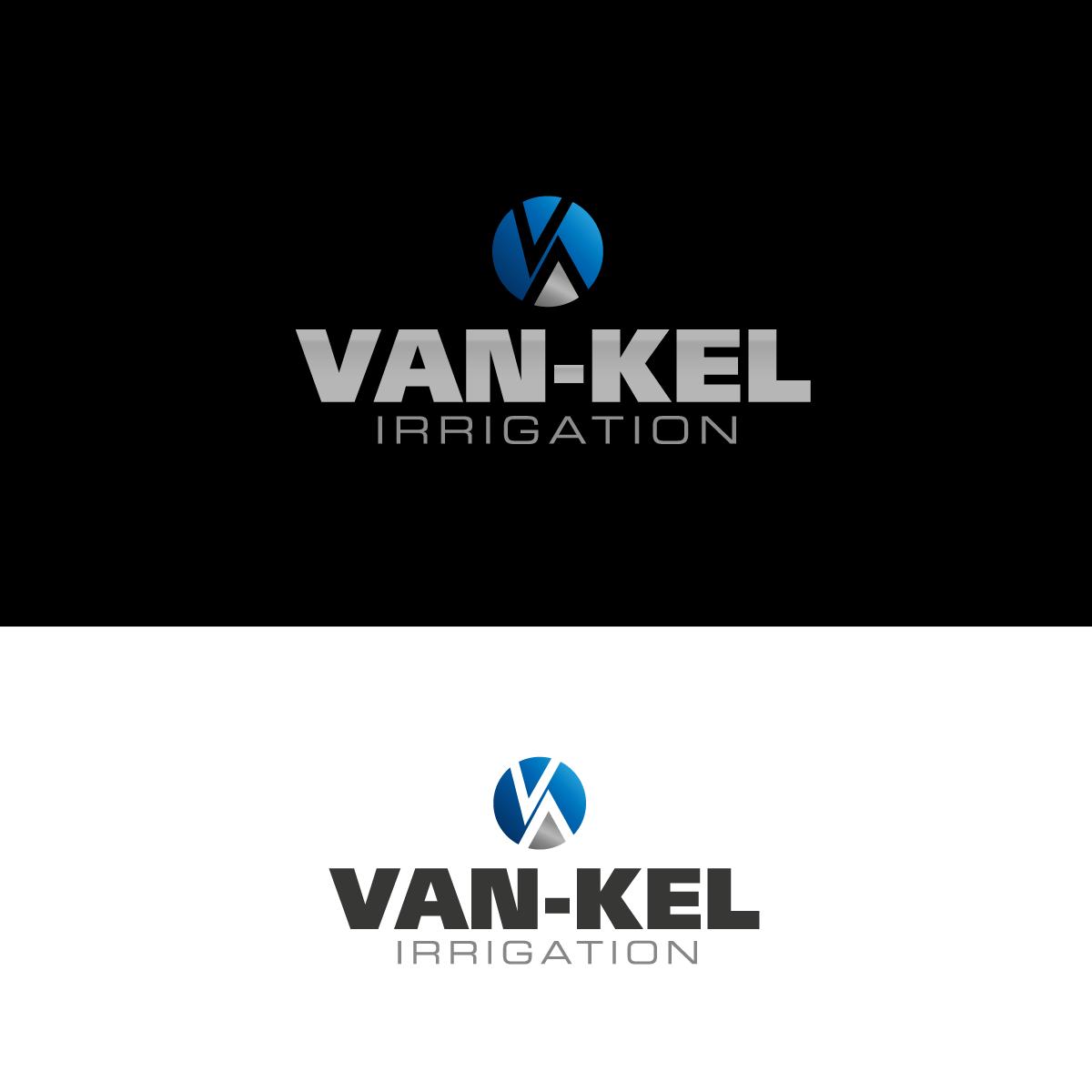 Logo Design by rockin - Entry No. 180 in the Logo Design Contest Van-Kel Irrigation Logo Design.