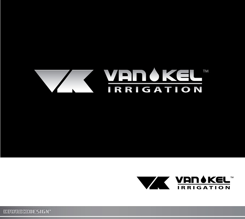 Logo Design by kowreck - Entry No. 181 in the Logo Design Contest Van-Kel Irrigation Logo Design.