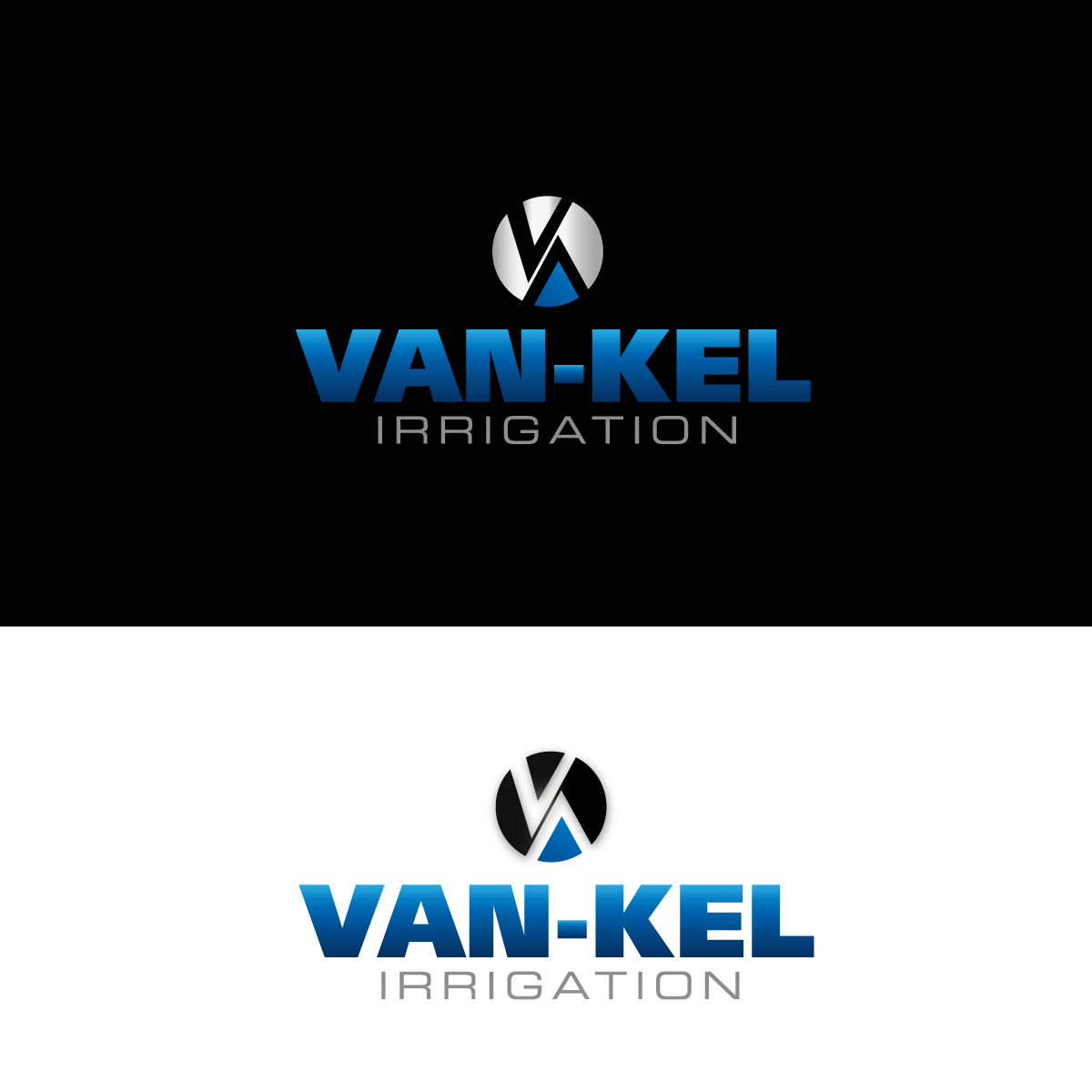 Logo Design by rockin - Entry No. 183 in the Logo Design Contest Van-Kel Irrigation Logo Design.