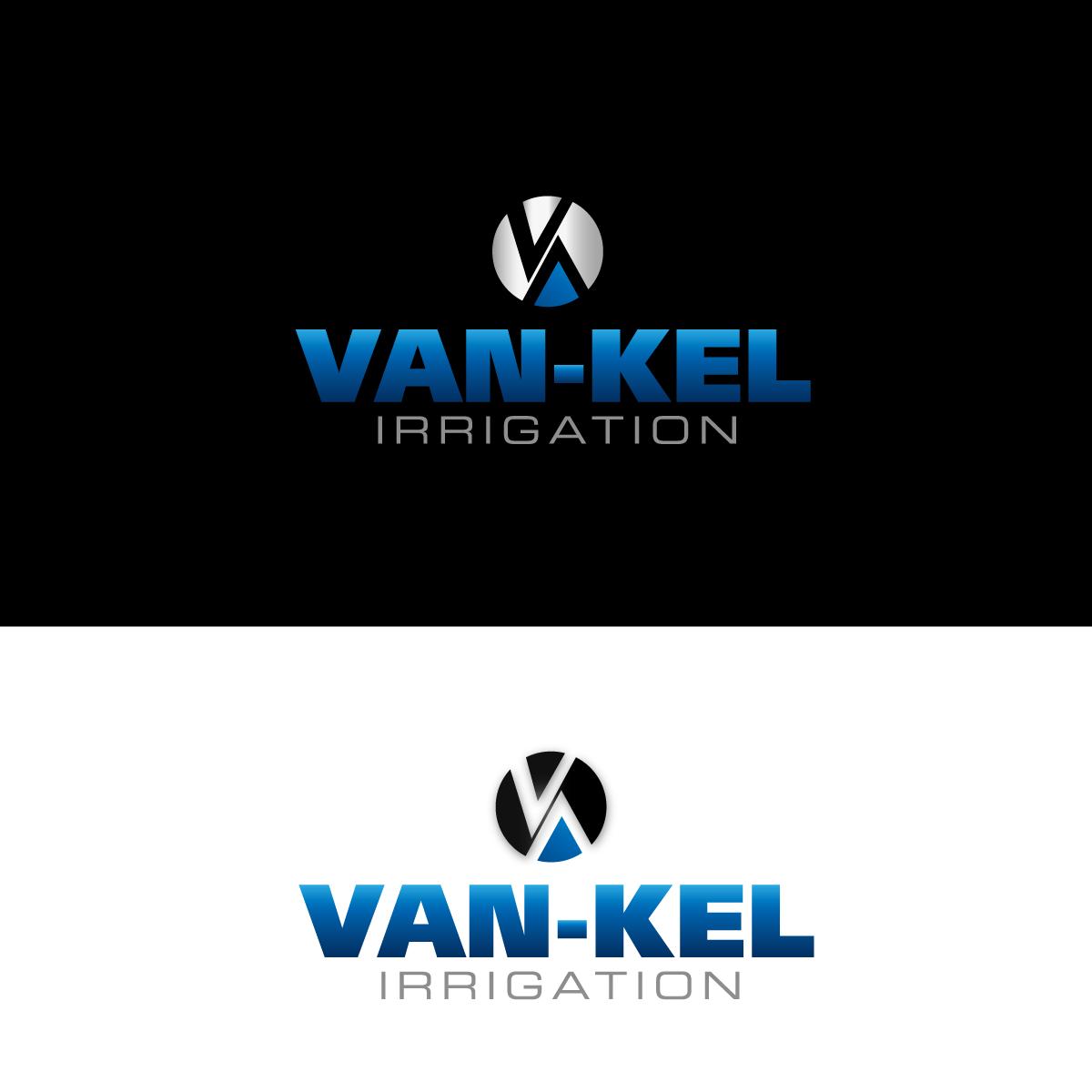 Logo Design by rockin - Entry No. 183 in the Logo Design Contest Van-Kel Irrigation Logo Design.