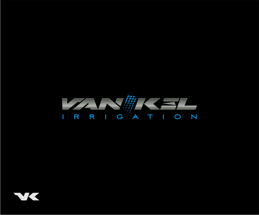 Logo Design by graphicleaf - Entry No. 184 in the Logo Design Contest Van-Kel Irrigation Logo Design.