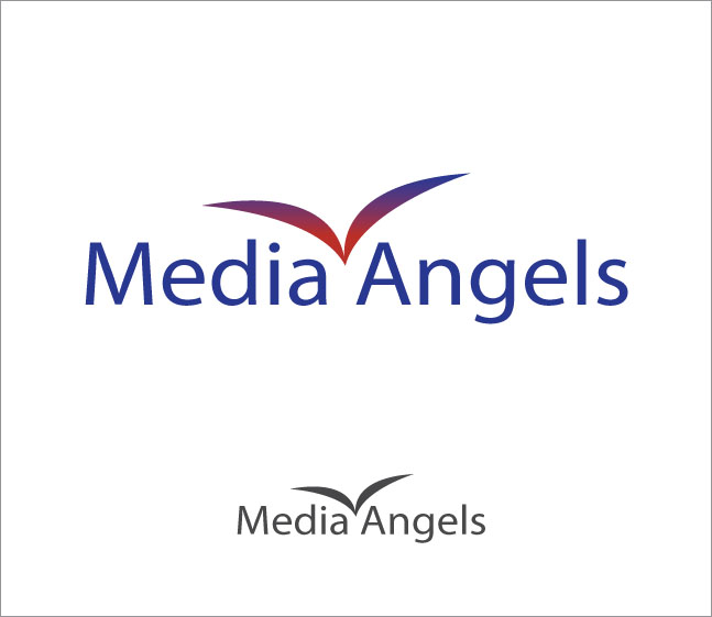 Logo Design by Mikael Aryo - Entry No. 239 in the Logo Design Contest New Logo Design for Media Angels.