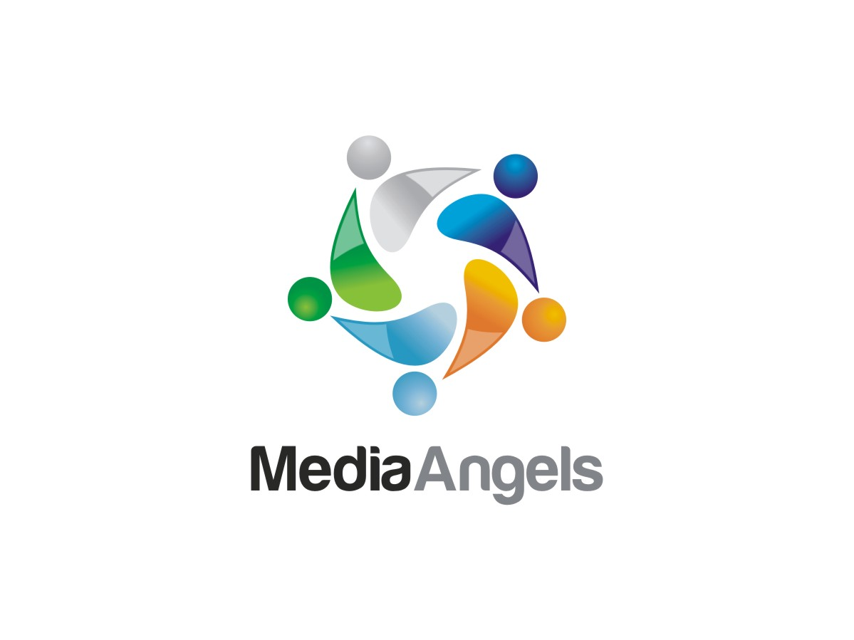 Logo Design by Janak  Singh - Entry No. 240 in the Logo Design Contest New Logo Design for Media Angels.