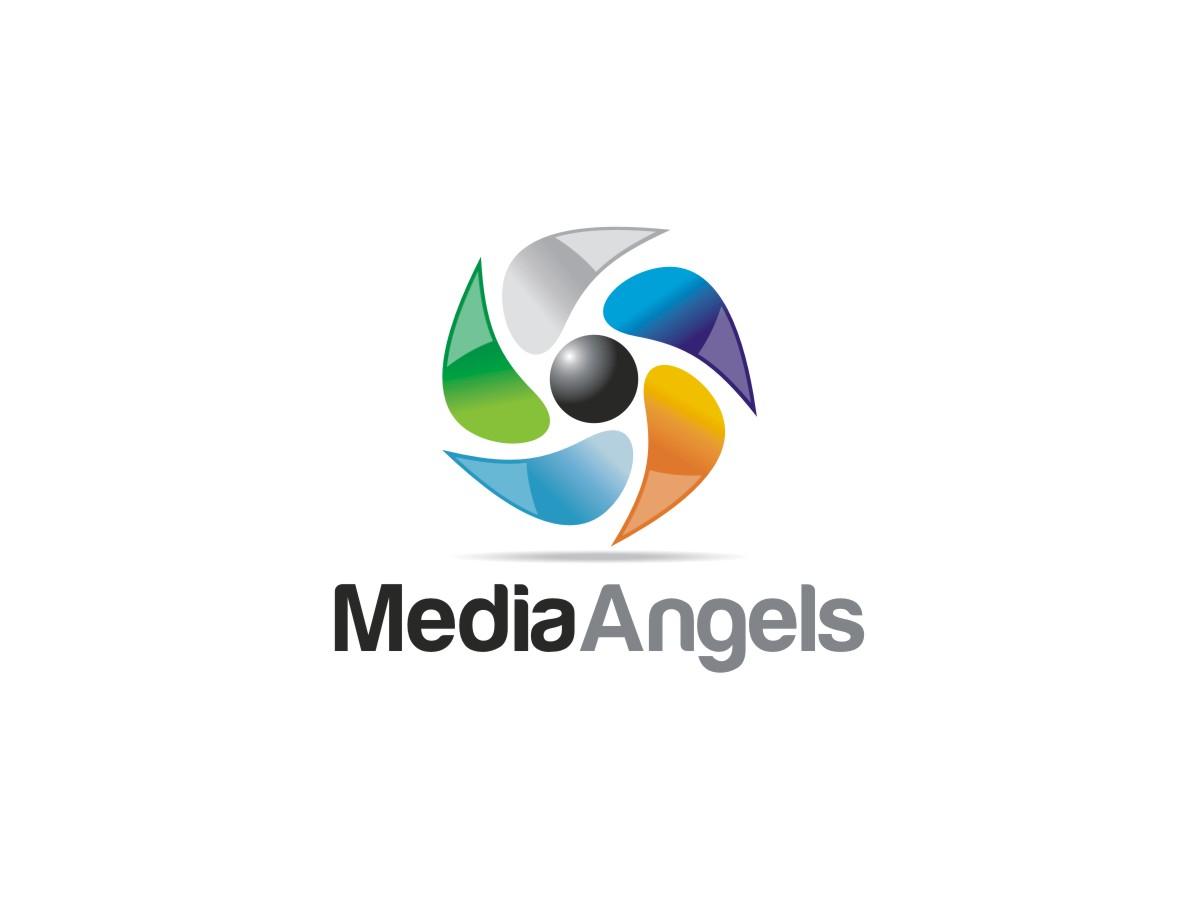 Logo Design by Janak  Singh - Entry No. 241 in the Logo Design Contest New Logo Design for Media Angels.