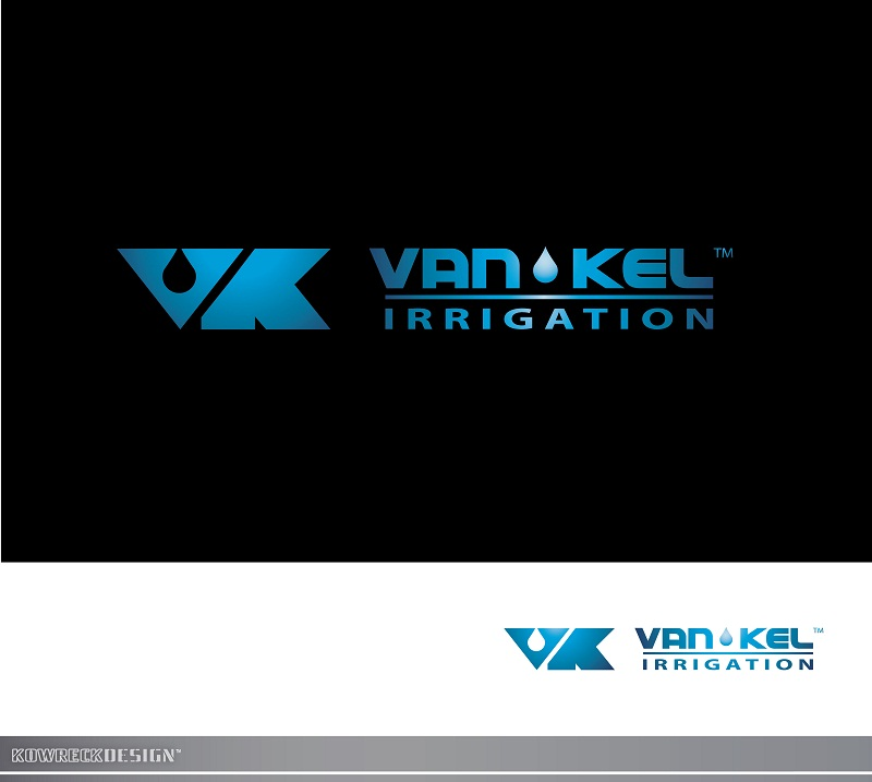 Logo Design by kowreck - Entry No. 187 in the Logo Design Contest Van-Kel Irrigation Logo Design.