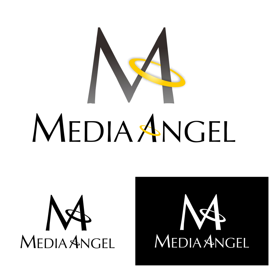 Logo Design by PJD - Entry No. 243 in the Logo Design Contest New Logo Design for Media Angels.