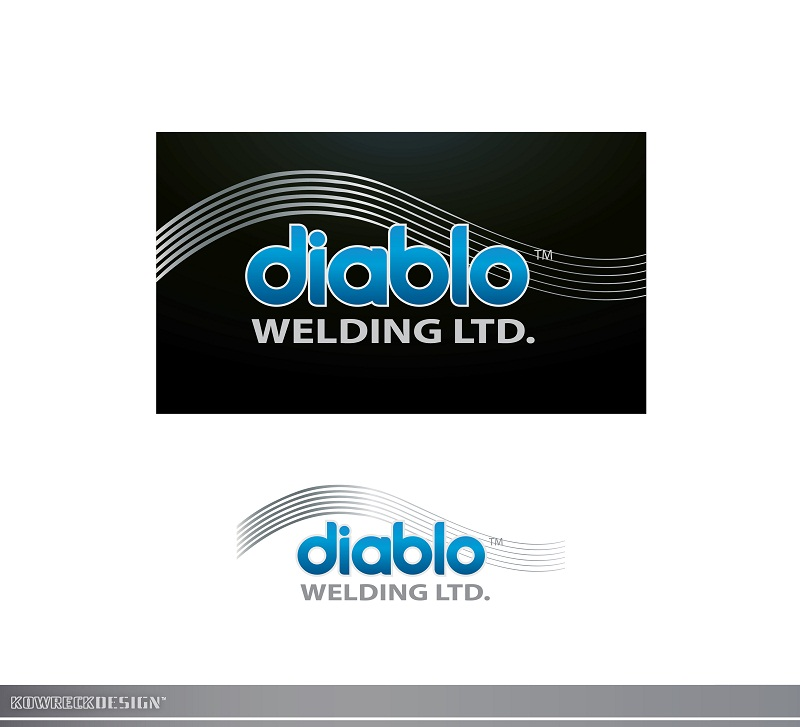 Logo Design by kowreck - Entry No. 13 in the Logo Design Contest New Logo Design for Diablo Welding Ltd..