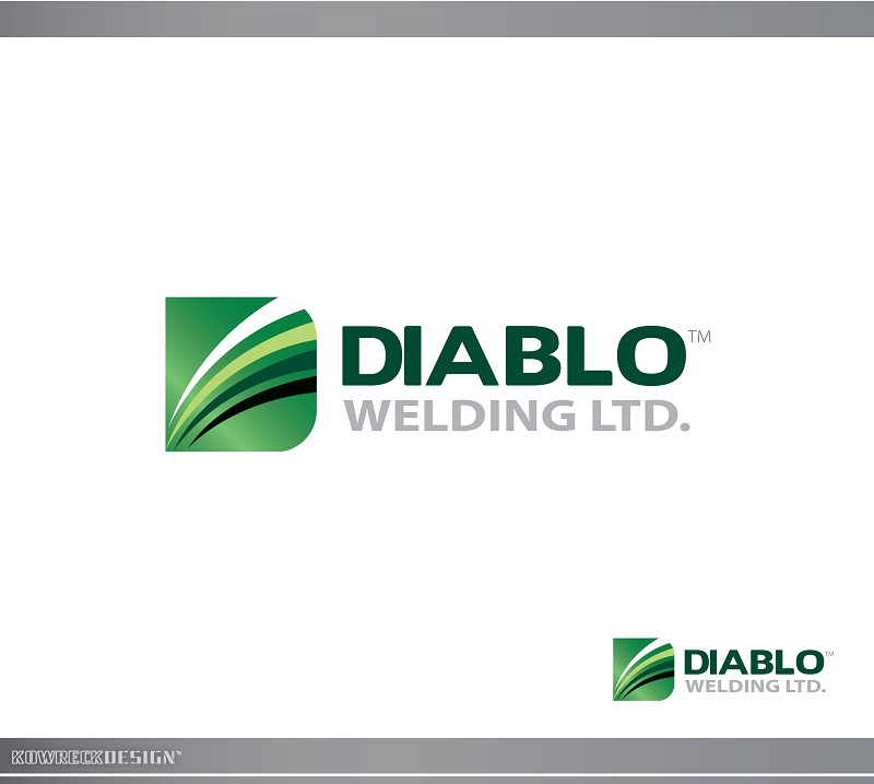 Logo Design by kowreck - Entry No. 14 in the Logo Design Contest New Logo Design for Diablo Welding Ltd..
