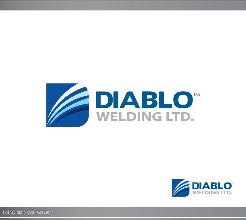 Logo Design by kowreck - Entry No. 15 in the Logo Design Contest New Logo Design for Diablo Welding Ltd..
