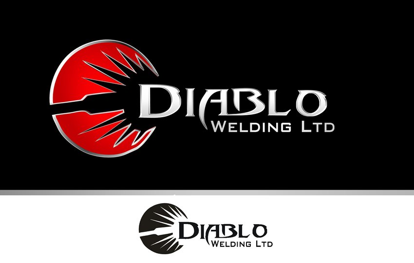 Logo Design by Respati Himawan - Entry No. 17 in the Logo Design Contest New Logo Design for Diablo Welding Ltd..