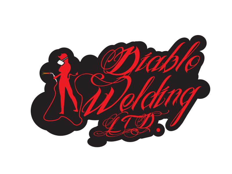 Logo Design by Mythos Designs - Entry No. 19 in the Logo Design Contest New Logo Design for Diablo Welding Ltd..
