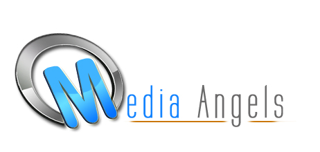 Logo Design by Crystal Desizns - Entry No. 247 in the Logo Design Contest New Logo Design for Media Angels.