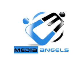 Logo Design by Crystal Desizns - Entry No. 248 in the Logo Design Contest New Logo Design for Media Angels.
