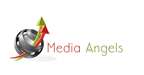 Logo Design by Crystal Desizns - Entry No. 249 in the Logo Design Contest New Logo Design for Media Angels.