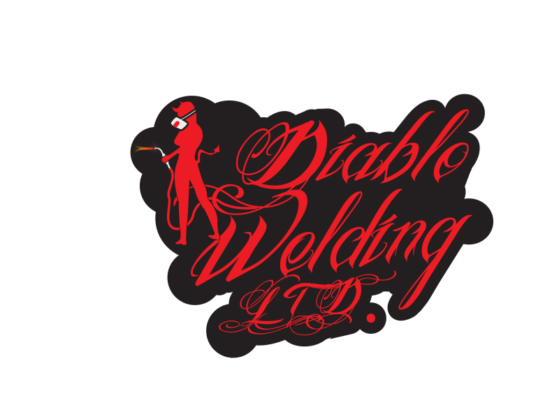Logo Design by Mythos Designs - Entry No. 20 in the Logo Design Contest New Logo Design for Diablo Welding Ltd..