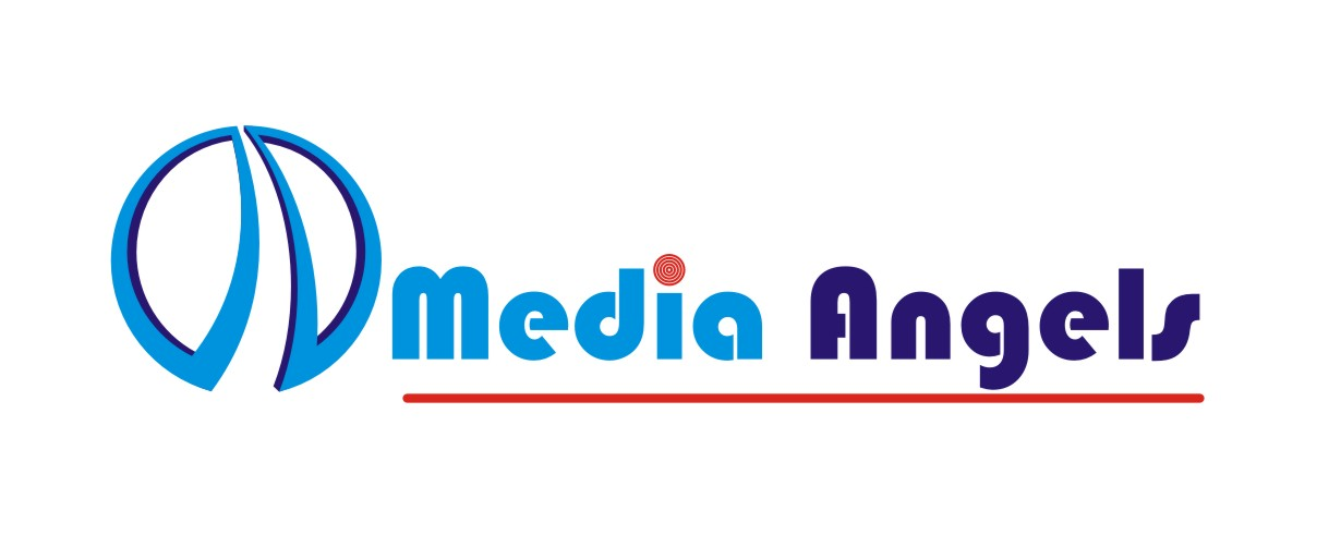 Logo Design by Crystal Desizns - Entry No. 250 in the Logo Design Contest New Logo Design for Media Angels.