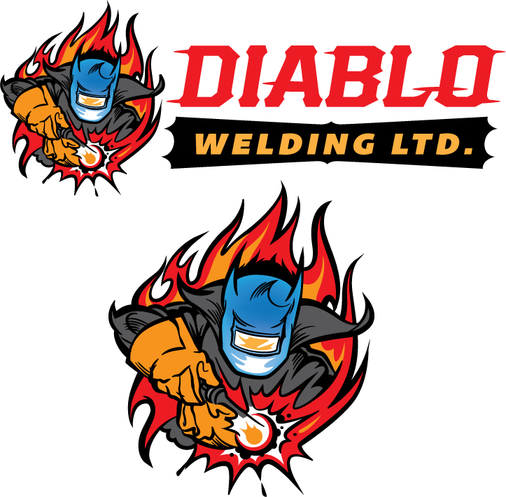 Logo Design by Vincent Barnhart - Entry No. 21 in the Logo Design Contest New Logo Design for Diablo Welding Ltd..