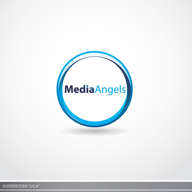 Logo Design by kowreck - Entry No. 251 in the Logo Design Contest New Logo Design for Media Angels.