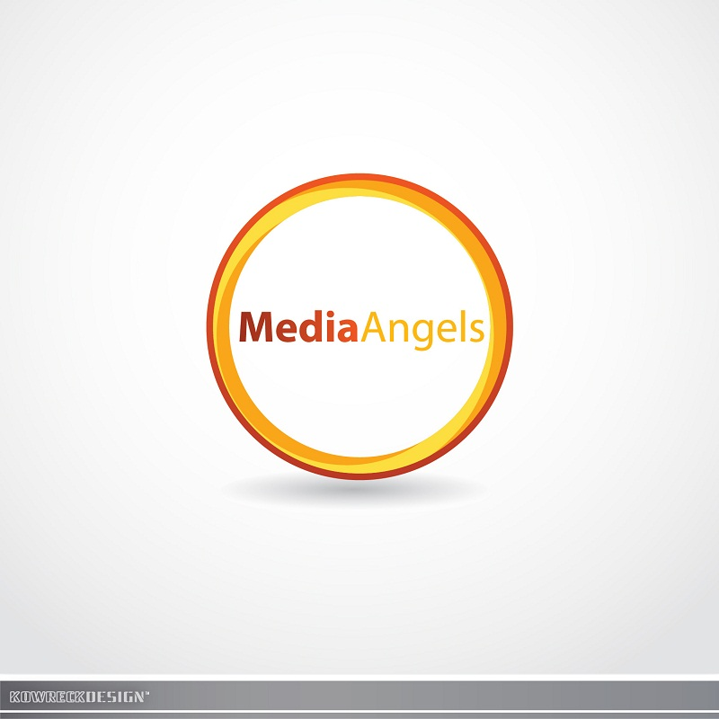 Logo Design by kowreck - Entry No. 252 in the Logo Design Contest New Logo Design for Media Angels.