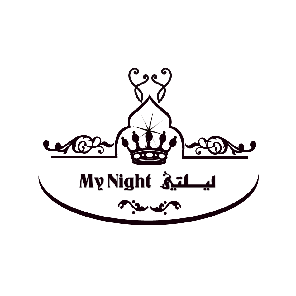 Logo Design by moonflower - Entry No. 78 in the Logo Design Contest Unique Logo Design Wanted for My Night - ليلتي.