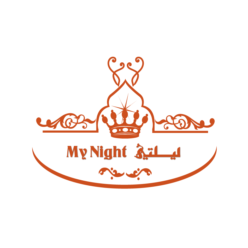 Logo Design by moonflower - Entry No. 79 in the Logo Design Contest Unique Logo Design Wanted for My Night - ليلتي.