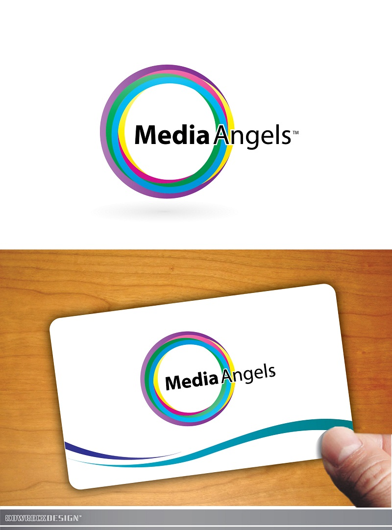 Logo Design by kowreck - Entry No. 254 in the Logo Design Contest New Logo Design for Media Angels.
