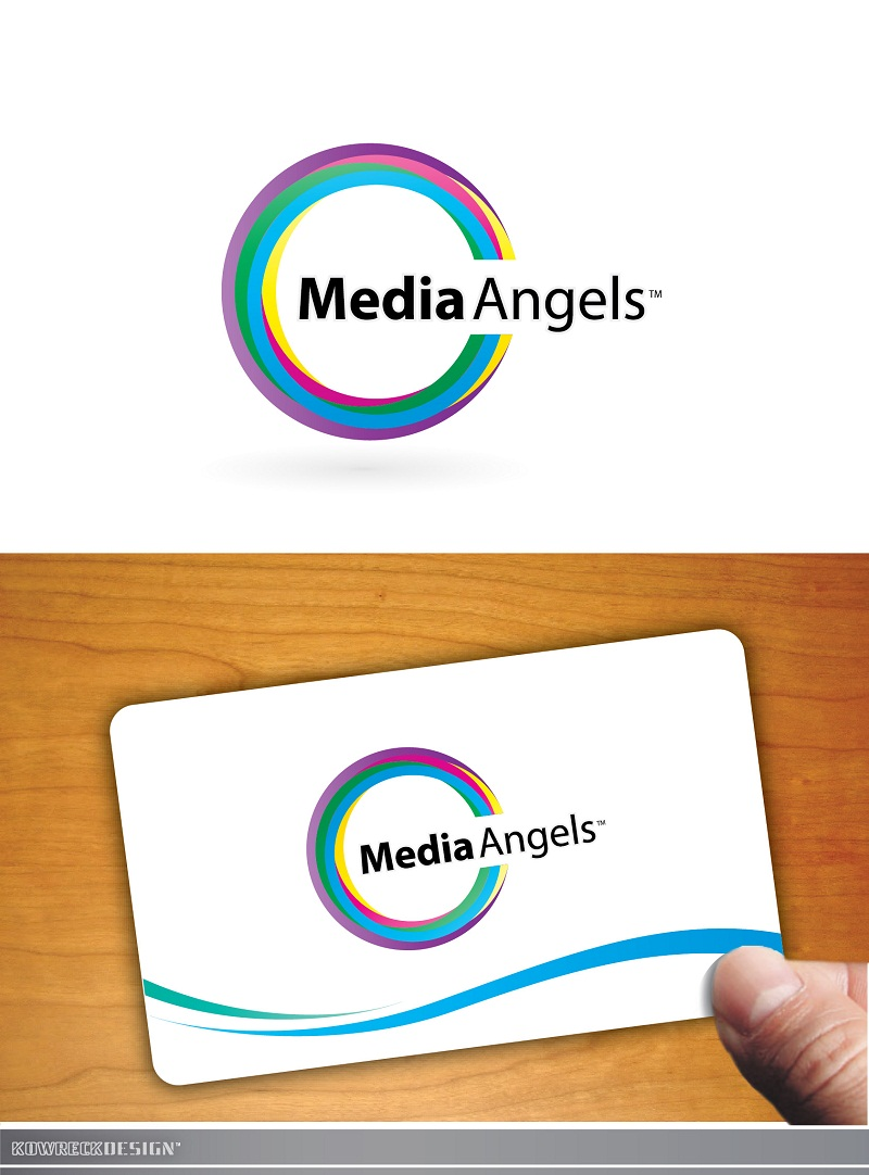 Logo Design by kowreck - Entry No. 255 in the Logo Design Contest New Logo Design for Media Angels.