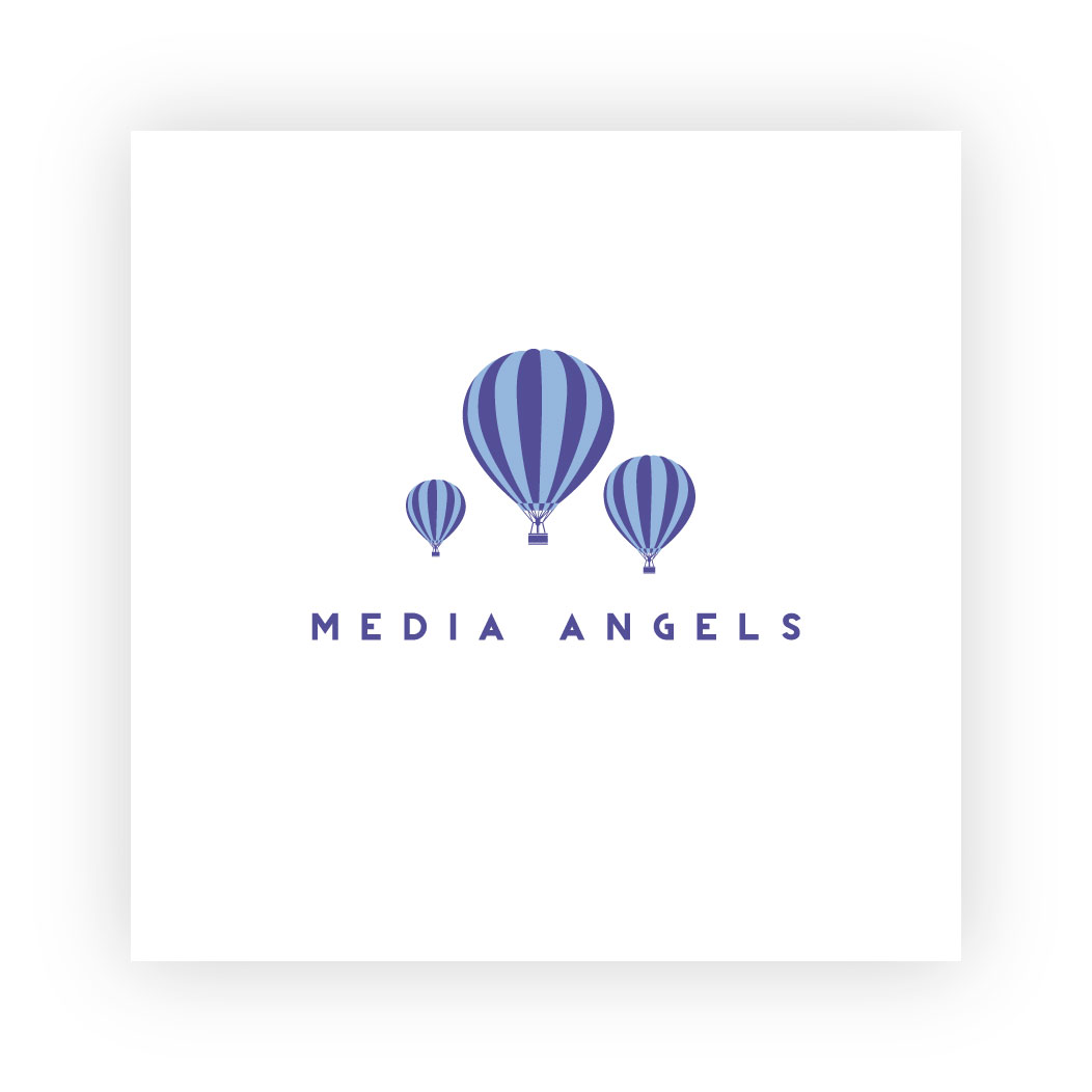 Logo Design by trav - Entry No. 257 in the Logo Design Contest New Logo Design for Media Angels.