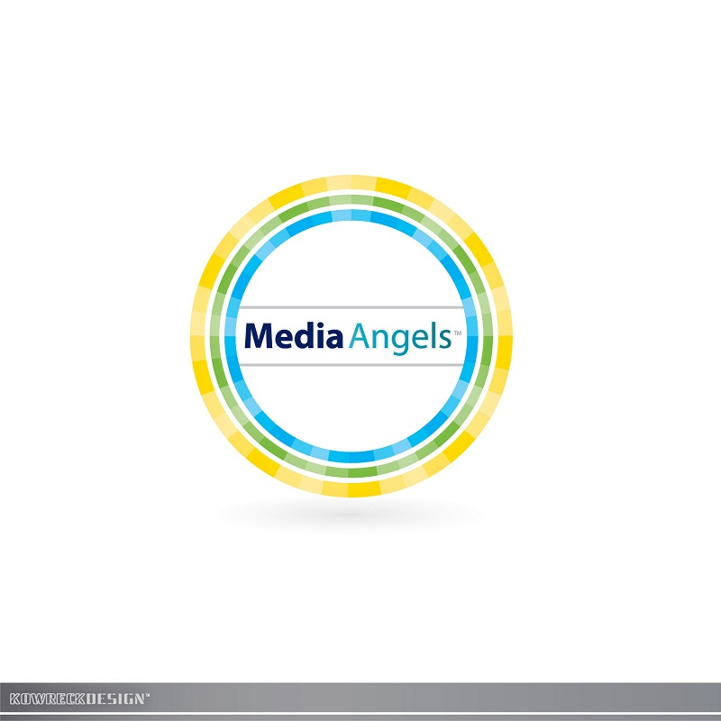 Logo Design by kowreck - Entry No. 261 in the Logo Design Contest New Logo Design for Media Angels.