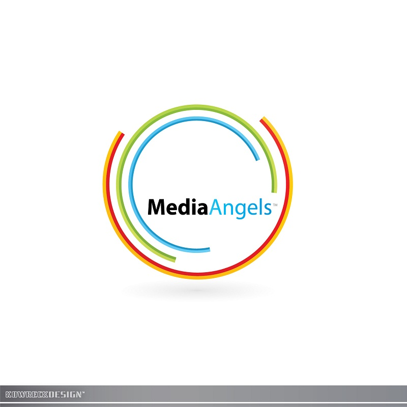 Logo Design by kowreck - Entry No. 263 in the Logo Design Contest New Logo Design for Media Angels.