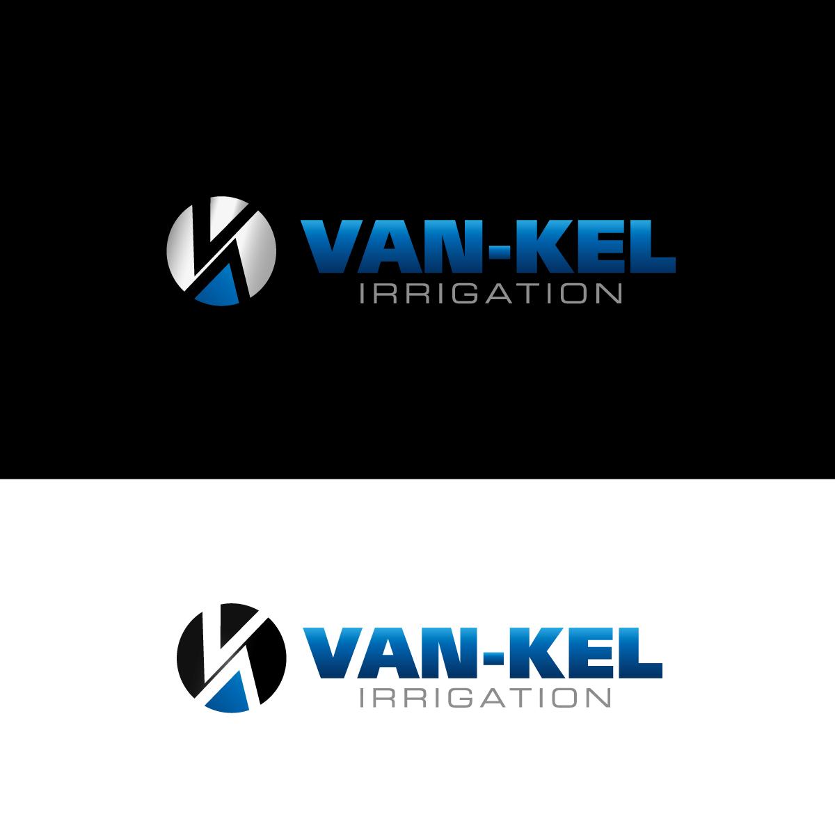 Logo Design by rockin - Entry No. 192 in the Logo Design Contest Van-Kel Irrigation Logo Design.