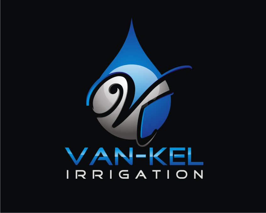 Logo Design by Reivan Ferdinan - Entry No. 193 in the Logo Design Contest Van-Kel Irrigation Logo Design.