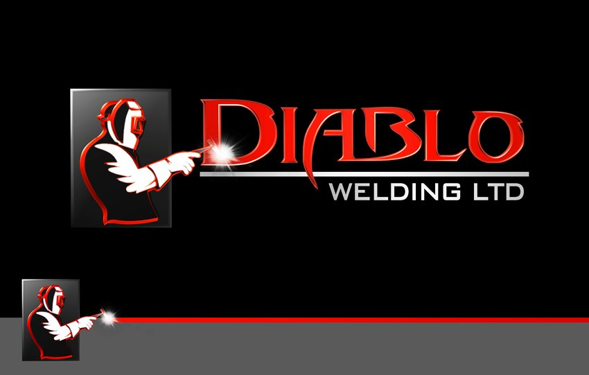 Logo Design by Respati Himawan - Entry No. 25 in the Logo Design Contest New Logo Design for Diablo Welding Ltd..